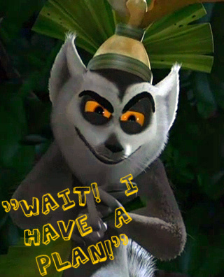 king julian madagascar attitude