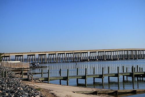 Bridge over Rappahannock