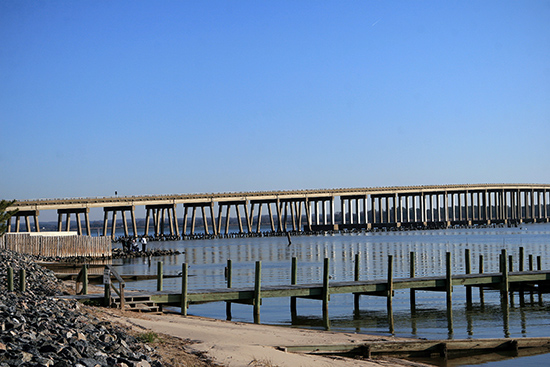 Bridge over Rappahannock
