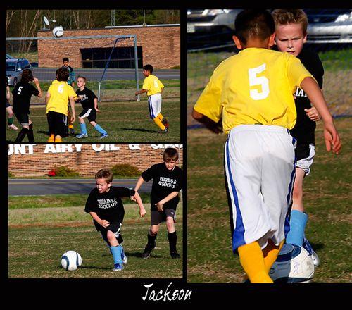 Jackson soccer shots