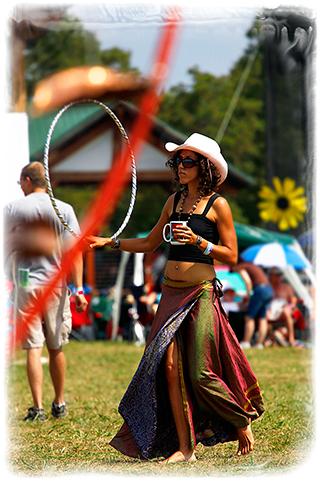 Hoola cowgirl