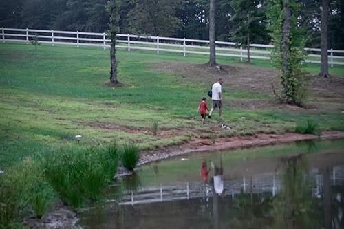 Pond-walk