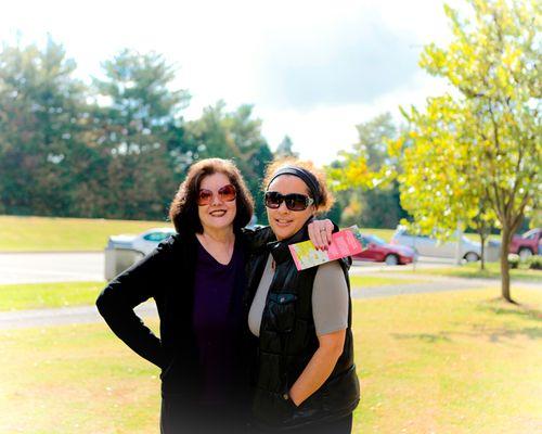 Melanie and mom