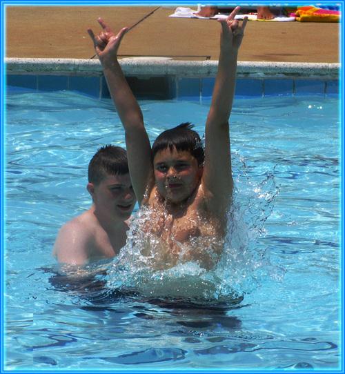 Caleb_pool_rock_on